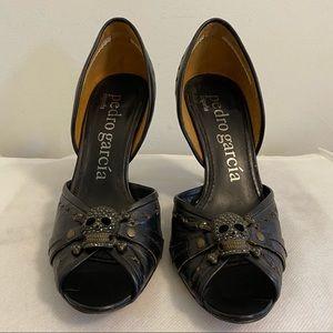 Authentic Pedro Garcia leather heels